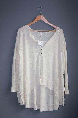 Free People S XS 36 34 Shirt Boho Bluse Top Layering