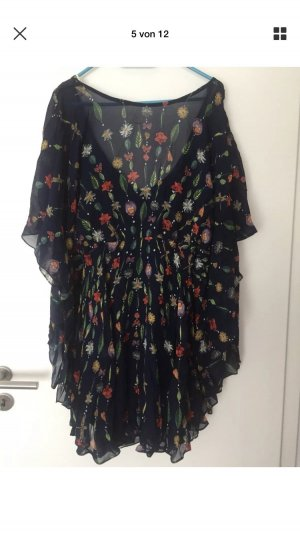 Free People Stand Inside Your Love Mini Dress Kleid S Blau OVP NEU