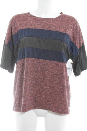Free People T-Shirt Streifenmuster sportlicher Stil