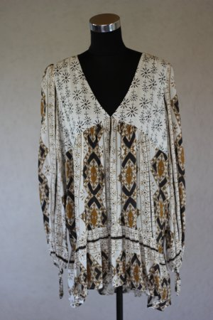 Free People Tunika Blogger Print Shirt