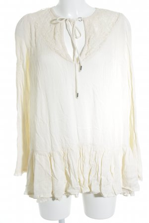 Free People Tunikabluse creme Casual-Look