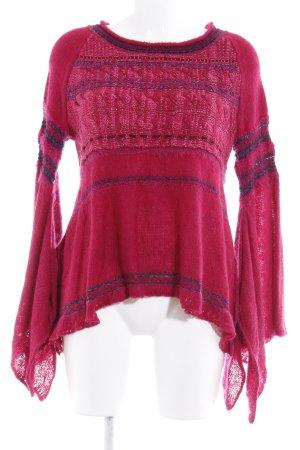 Free People Jersey de lana moteado estilo gitano