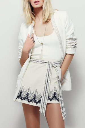 Free People Wrap Mini Rock NEU XS