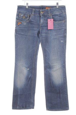 Free Soul Boot Cut Jeans stahlblau Casual-Look