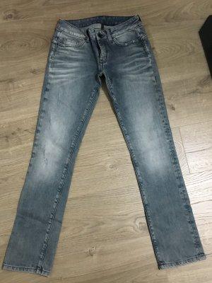 Free Soul Jeans blau grau
