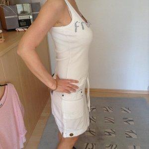 Free Soul Kleid Sommerkleid Gr. S sportlich weiß