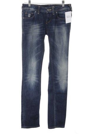 Free Soul Slim Jeans dunkelblau-blau Casual-Look