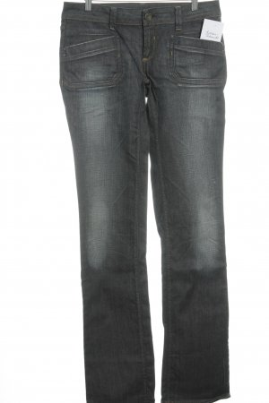 Free Soul Straight-Leg Jeans petrol-blau Casual-Look