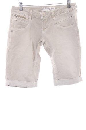 Freeman t. porter 3/4 Jeans hellbeige-wollweiß schlichter Stil