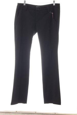 Freeman t. porter Pantalon zwart Webpatroon casual uitstraling