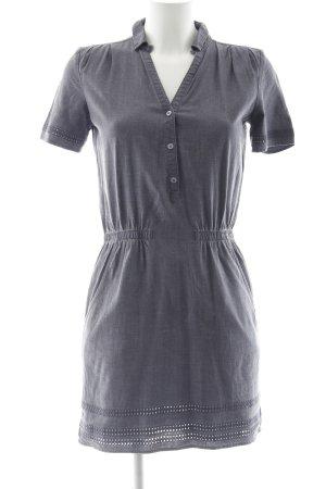 Freeman t. porter Blusenkleid grauviolett klassischer Stil
