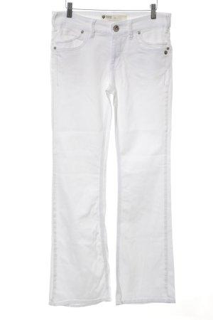 Freeman t. porter Boot Cut Jeans weiß Casual-Look