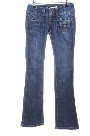 Freeman t. porter Boot Cut Jeans blau Casual-Look