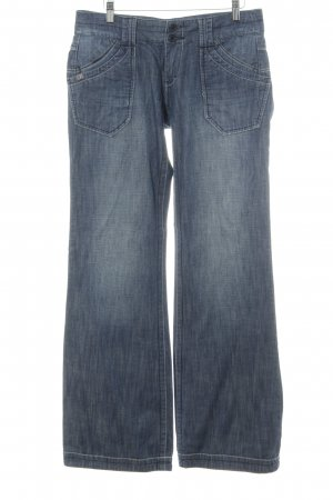Freeman t. porter Boot Cut Jeans blau Casual-Look
