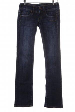 Freeman t. porter Boot Cut Jeans dunkelblau Jeans-Optik