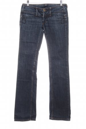 Freeman t. porter Boot Cut Jeans graublau Used-Optik