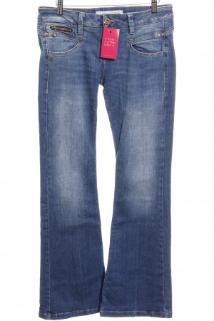 Freeman t. porter Boot Cut Jeans hellblau Jeans-Optik