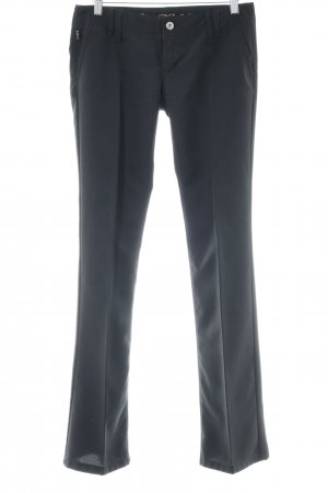 Freeman t. porter Bundfaltenhose schwarz Business-Look