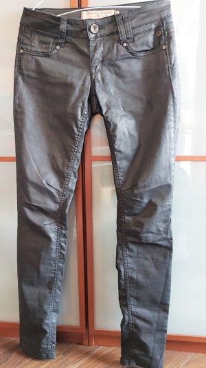 Freeman t. porter Jeans stretch gris anthracite-noir