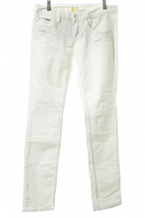 Freeman t. porter Pantalon taille basse blanc style décontracté