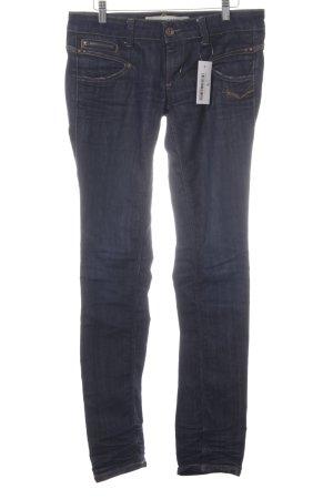 Freeman t. porter Low Rise Jeans dark blue second hand look