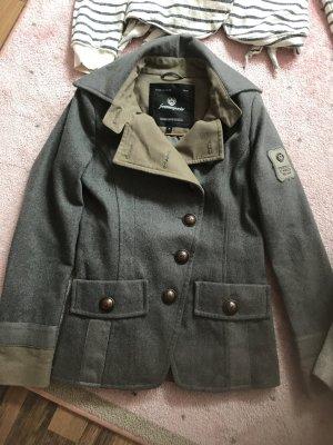 Freeman t. porter Veste militaire gris foncé-gris vert