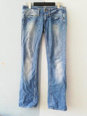 Freeman t. porter Jeans taille basse bleu azur