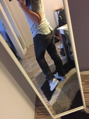 Freeman T.Porter Jeans Hose Knopfleiste Boyfriend Reissverschluss