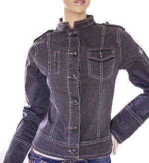 Freeman T. Porter Jeans-Jacke - Grau | Gr.S/36