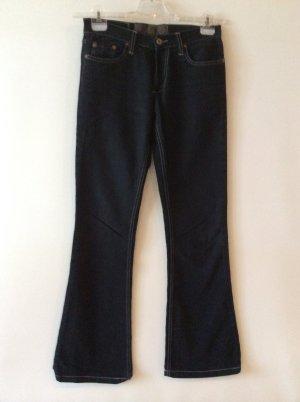 Freeman T Porter Jeans mit Cordseite Gr 26(34) schwarz