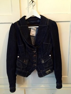 Freeman t. porter Denim Blazer dark blue