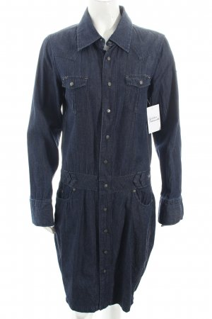 Freeman t. porter Jeanskleid blau Street-Fashion-Look