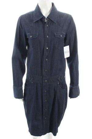 Freeman t. porter Vestido vaquero azul Algodón