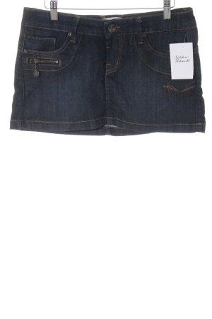Freeman t. porter Spijkerrok donkerblauw Jeans-look