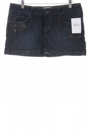 Freeman t. porter Jeansrock dunkelblau Jeans-Optik