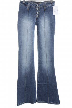 Freeman t. porter Jeansschlaghose blau Used-Optik