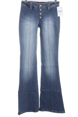 Freeman t. porter Jeansschlaghose blau Used-Optik