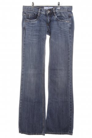 Freeman t. porter Jeansschlaghose blau Casual-Look