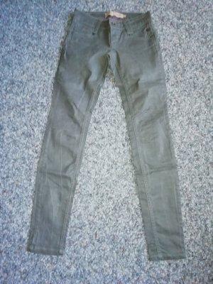 Freeman T. Porter Leather Skin Hose dixie grau 26/34