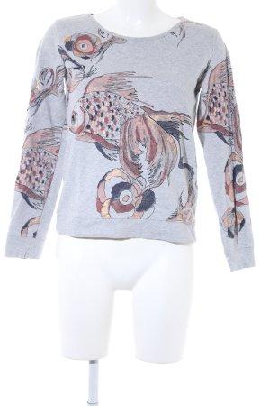 Freeman t. porter Sweatshirt Allover-Druck Casual-Look