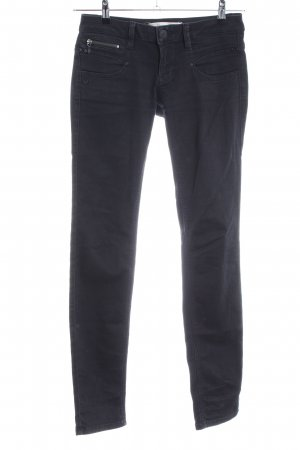 Freeman t. porter Skinny Jeans schwarz Casual-Look