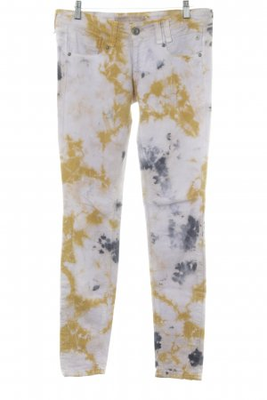Freeman t. porter Skinny Jeans Batikmuster Casual-Look