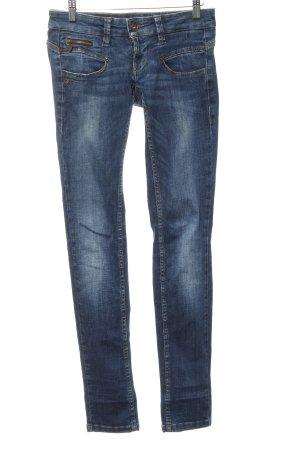 Freeman t. porter Skinny Jeans dunkelblau Jeans-Optik