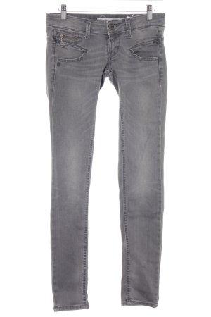 Freeman t. porter Skinny Jeans grau Casual-Look
