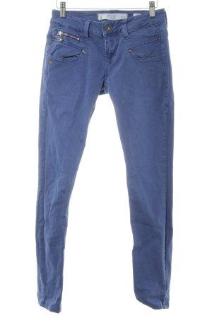 Freeman t. porter Skinny Jeans stahlblau Casual-Look