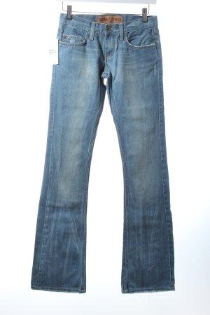 Freeman t. porter Slim Jeans blassblau Jeans-Optik