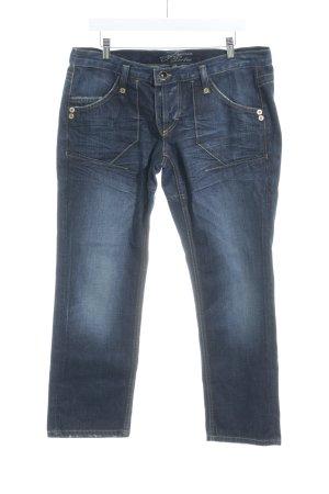 Freeman t. porter Slim Jeans blau Used-Optik