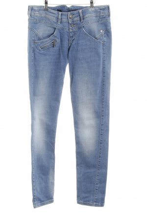 Freeman t. porter Slim Jeans graublau-blassblau Jeans-Optik