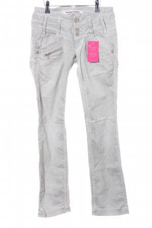 Freeman t. porter Slim Jeans hellgrau Casual-Look