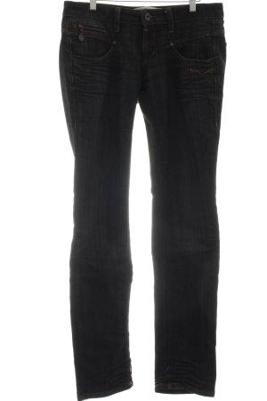Freeman t. porter Slim Jeans schwarz Casual-Look
